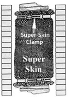 Super Skin And Skin Clamps 16 Oz Spray Blanket Adhesive
